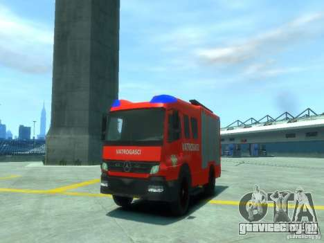 Mercedes-Benz Atego Fire Departament для GTA 4