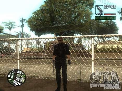 Wesker из RE5 для GTA San Andreas
