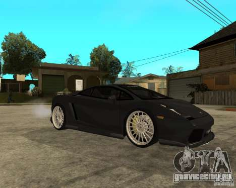 Lamborghini Gallardo HAMANN Tuning для GTA San Andreas вид справа