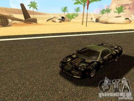Honda NSX Custom для GTA San Andreas вид сбоку