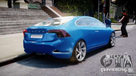 Volvo S60 Concept для GTA 4 вид сбоку