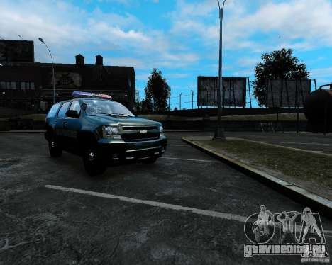 Chevrolet Tahoe Hungarian Vam-Zoll Custom для GTA 4