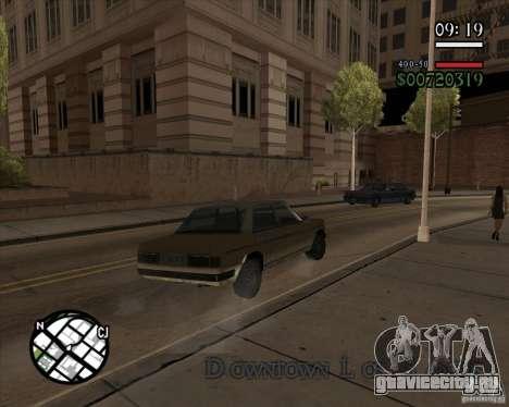 Новое реалистичное управление для GTA San Andreas четвёртый скриншот