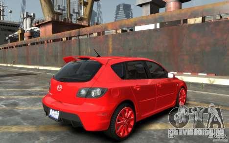 Mazda 3 для GTA 4 вид справа