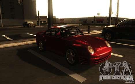 Porsche 959 1987 для GTA San Andreas вид слева