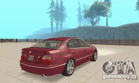 Lexus GS430 1999 для GTA San Andreas вид слева