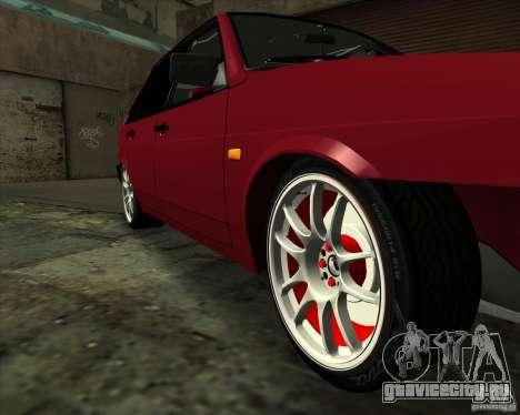 ВАЗ 2109 Drift для GTA San Andreas вид сверху