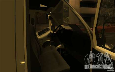 ГАЗель СПВ-16 Рута для GTA San Andreas вид справа