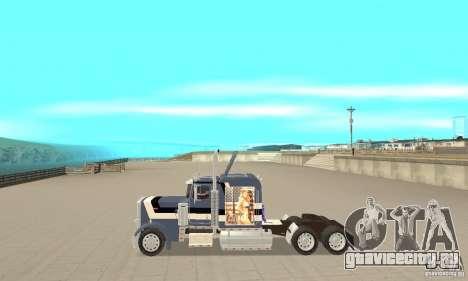Peterbilt 359 для GTA San Andreas вид слева