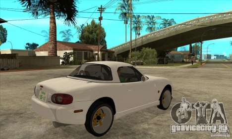 Mazda MX-5 JDM Coupe для GTA San Andreas вид справа