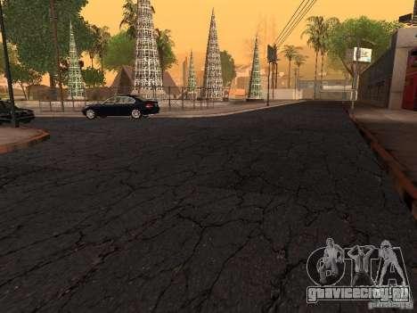 Новые дороги на Гроув-Стрит для GTA San Andreas четвёртый скриншот
