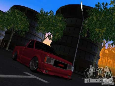 GMC Syclone Drift для GTA San Andreas вид справа