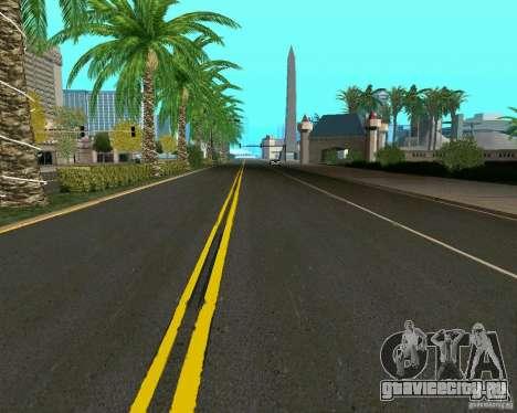 GTA 4 Road Las Venturas для GTA San Andreas четвёртый скриншот