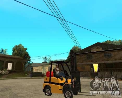 Forklift GTAIV для GTA San Andreas вид справа