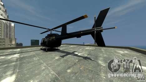 Helicopter Generation-GTA для GTA 4 вид сзади слева