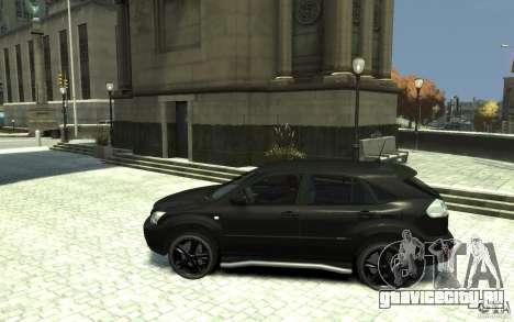 Lexus RX 400h для GTA 4 вид слева