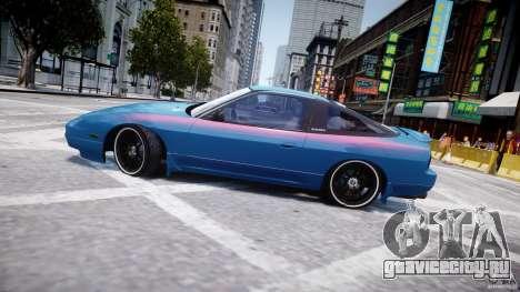 Nissan 240sx v1.0 для GTA 4 вид снизу