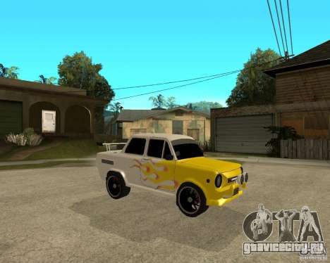 ЗАЗ 968м тюнингованый для GTA San Andreas