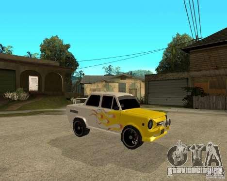 ЗАЗ 968м тюнингованый для GTA San Andreas вид справа
