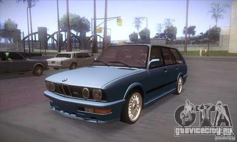 BMW E28 Touring для GTA San Andreas вид слева