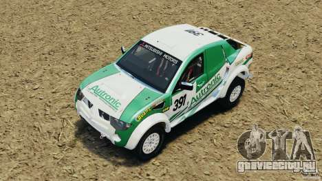 Mitsubishi L200 Triton для GTA 4 вид сбоку