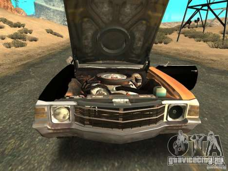 Chevrolet Chevelle Rustelle для GTA San Andreas вид справа