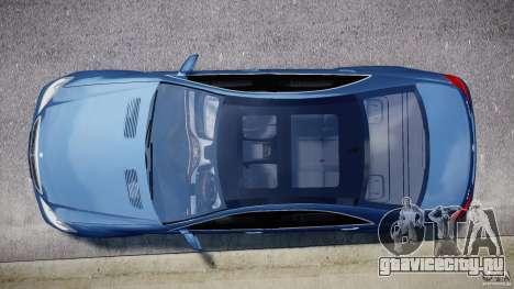 Mercedes-Benz S63 AMG [Final] для GTA 4 салон