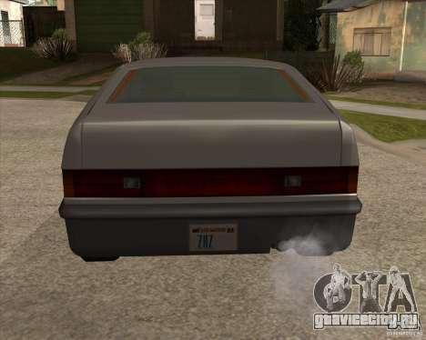 Улучшенная Blistac для GTA San Andreas вид сзади слева