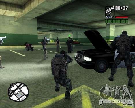Сталкеры Группировки Долг для GTA San Andreas шестой скриншот