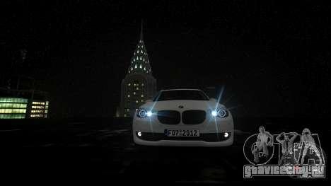 BMW GT F07 2012 GranTurismo для GTA 4 вид сверху