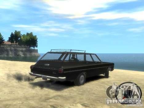 Plymouth Belvedere Wagon 1965 v1.0 для GTA 4 вид слева