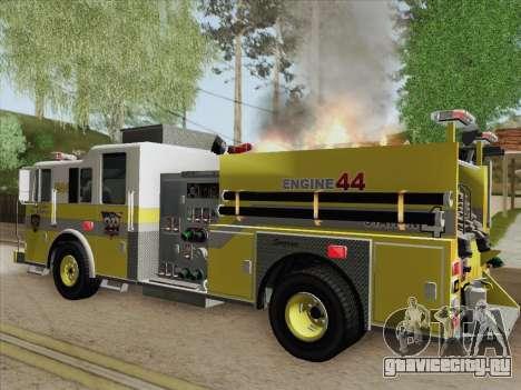 Seagrave Marauder II BCFD Engine 44 для GTA San Andreas двигатель