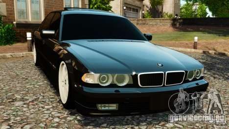 BMW 750iL E38 Light Tuning для GTA 4