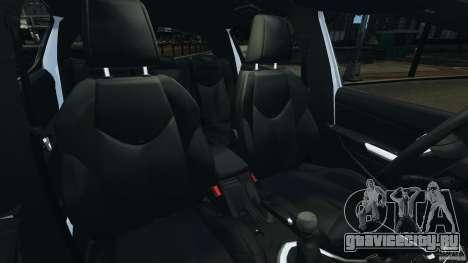 Peugeot 308 GTi 2011 v1.1 для GTA 4 вид изнутри