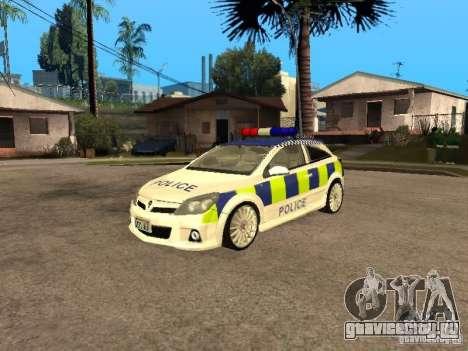 Opel Astra 2007 Police для GTA San Andreas