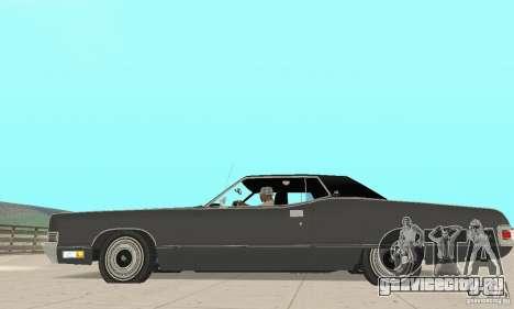 Mercury Marquis 2dr 1971 для GTA San Andreas вид слева