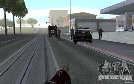 Новая анимация стрельбы из винтовок для GTA San Andreas третий скриншот