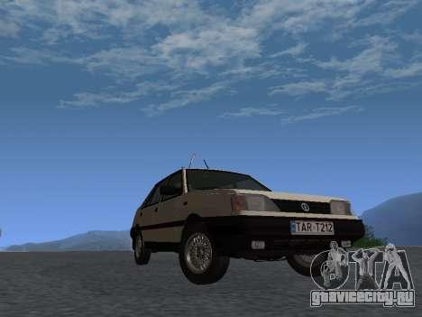 FSO Polonez Atu 1.4 GLI 16v для GTA San Andreas вид сзади слева
