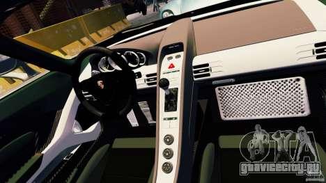 Porsche Carrera GT для GTA 4 вид сверху