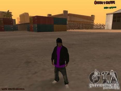 Ballas skins для GTA San Andreas третий скриншот