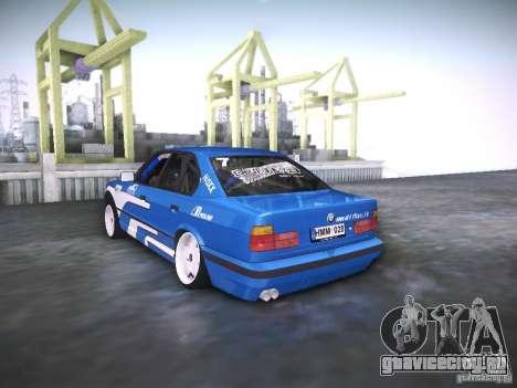 BMW E34 Drift для GTA San Andreas вид слева