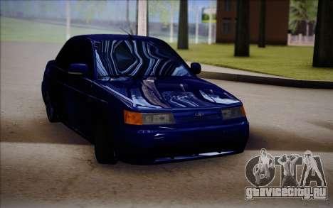 ВАЗ 2110 Качественная для GTA San Andreas вид справа