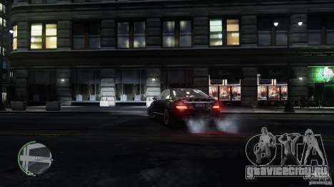 Mercedes-Benz S65 AMG для GTA 4 салон