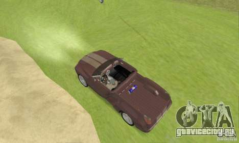 Dodge Sidewinder Concept 1997 для GTA San Andreas вид сзади слева