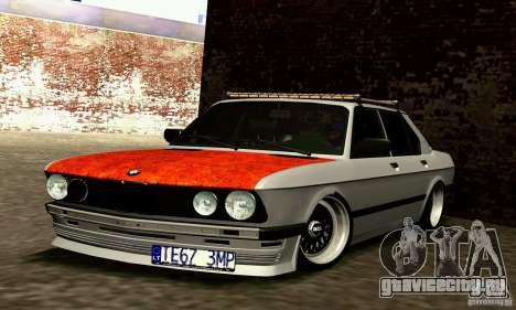 BMW E28 525е RatStyle Nr1 для GTA San Andreas