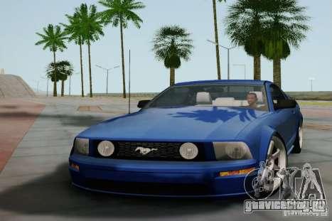 Ford Mustang Twin Turbo для GTA San Andreas вид слева