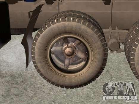 КамАЗ 5320 для GTA San Andreas вид сзади