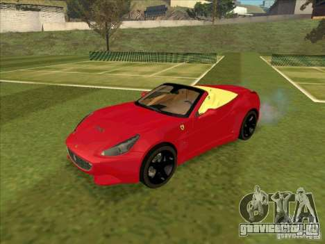 Ferrari California для GTA San Andreas