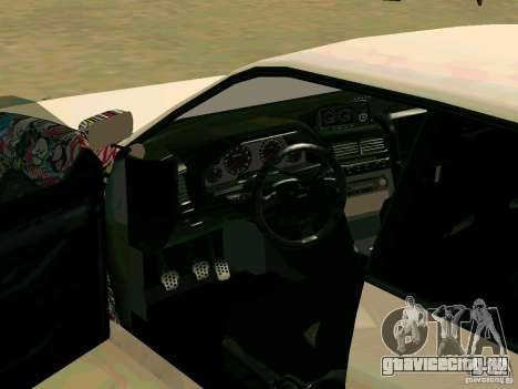 New Sultan v1.0 для GTA San Andreas вид снизу