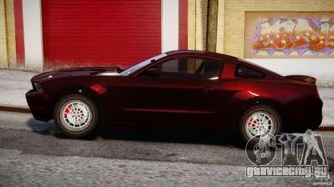 Ford Shelby GT500 2010 для GTA 4 вид изнутри